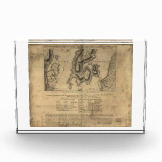Batalla Nueva York mapa del 11 de octubre de 1776