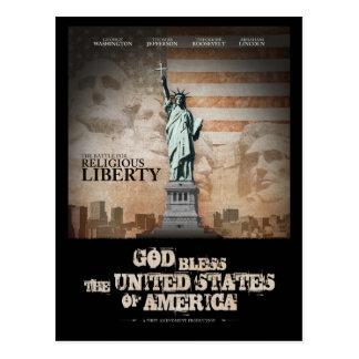 Batalla para la libertad religiosa postales