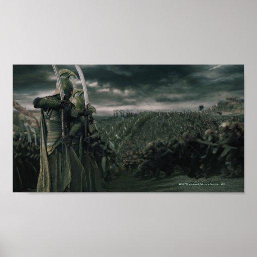Batalla para la tierra media póster