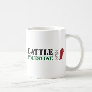 Batalla para Palestina Taza De Café