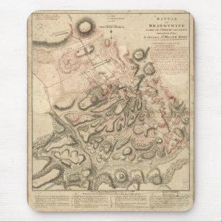 Batalla revolucionaria de la guerra del mapa de alfombrilla de ratones