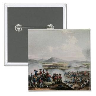 Batalla Talavera, grabada por Thomas Sutherland Pin Cuadrado