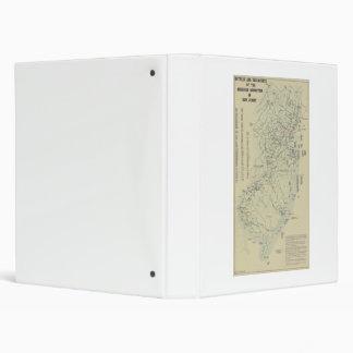 """Batallas de la guerra revolucionaria en el mapa de carpeta 1"""""""