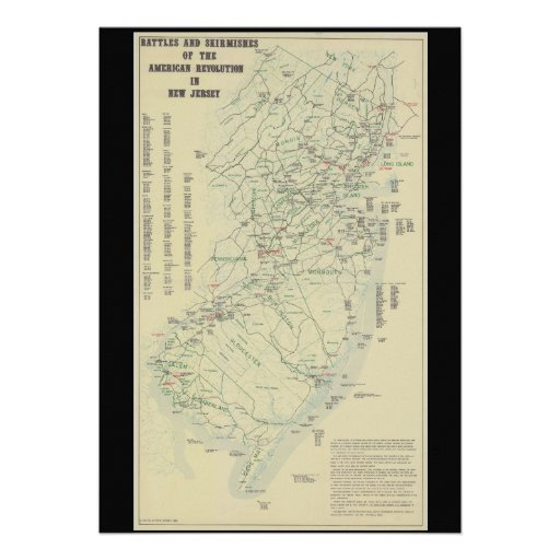 Batallas de la guerra revolucionaria en el mapa de comunicado personal