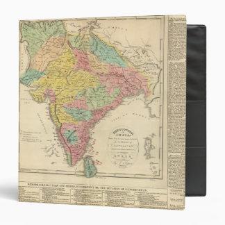 """Batallas de la India y mapa de Seiges Chonology Carpeta 1 1/2"""""""