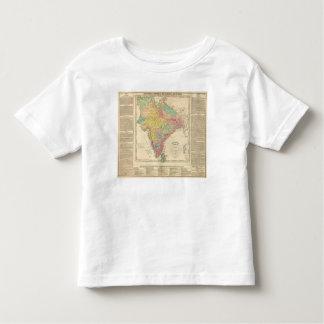 Batallas de la India y mapa de Seiges Chonology Remeras