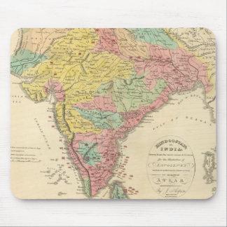 Batallas de la India y mapa de Seiges Chonology Tapete De Ratón