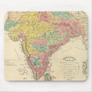 Batallas de la India y mapa de Seiges Chonology Tapetes De Ratón