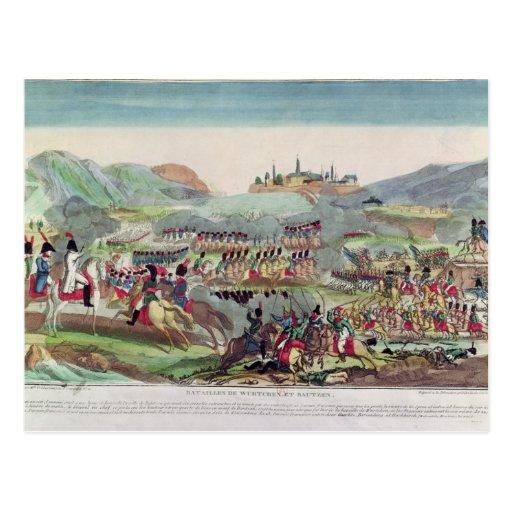 Batallas de Wurtchen y de Bautzen, el 20 de mayo Postales