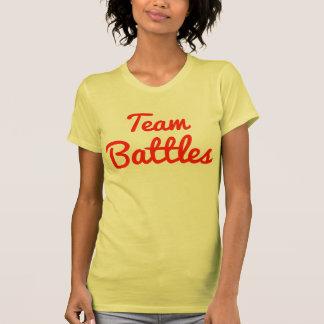 Batallas del equipo camisetas