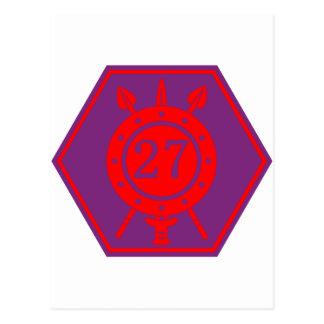 Batallón de la infantería 27 tarjetas postales