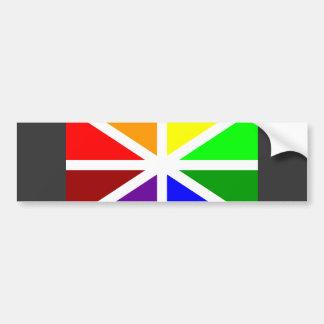 Batasuna Flag Car Bumper Sticker