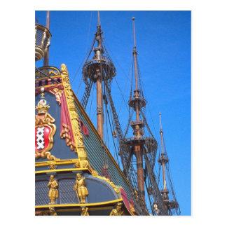 Batavia - nave del este holandesa de los indies postales