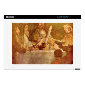 Batavian conspiracy, detail by Rembrandt Decals For Laptops