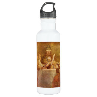 Batavian conspiracy, detail by Rembrandt Water Bottle