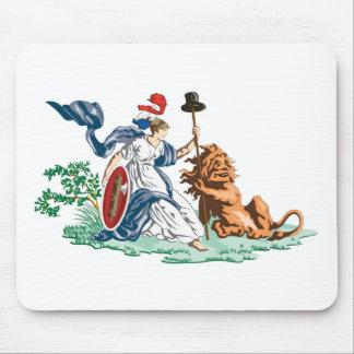 Batavian Republic Jack (1797-1806) Mouse Pad