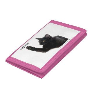 Batcat: cartera de tres pliegues