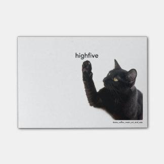 Batcat: High 5 Post-it notes