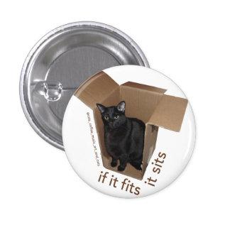 Batcat: It fits it sits Button