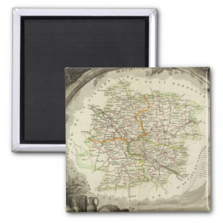 Batch and Garonne 2 Inch Square Magnet