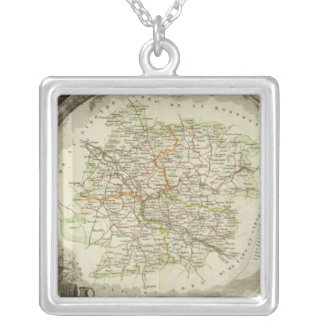 Batch and Garonne Silver Plated Necklace