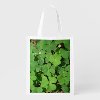 Batch of Clovers Reusable Grocery Bag
