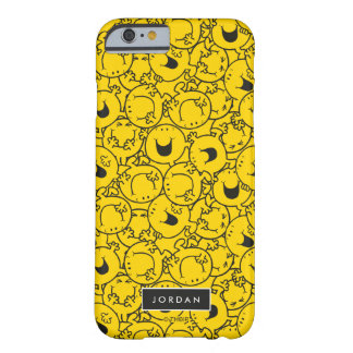 Batch of Yellow Smiles Pattern   Add Your Name Barely There iPhone 6 Case
