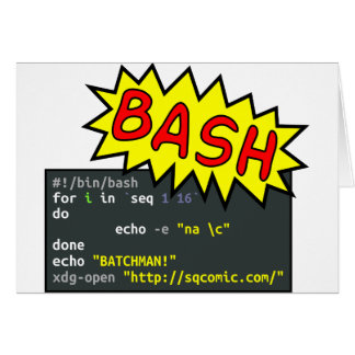 Batchman Card