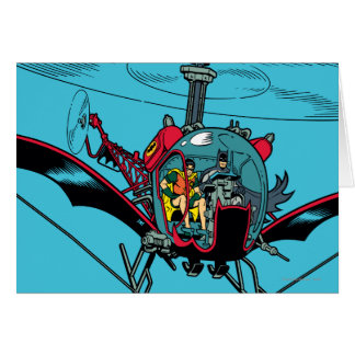 Batcopter Cards