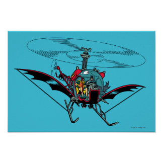 Batcopter Poster