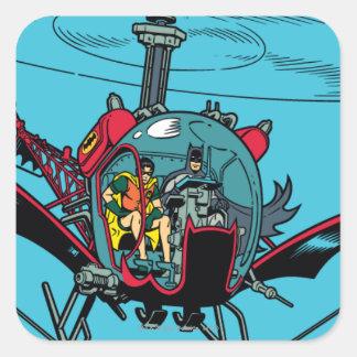 Batcopter Square Sticker