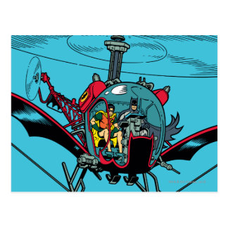 Batcopter Postales