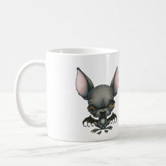 Batdog Classic White Coffee Mug