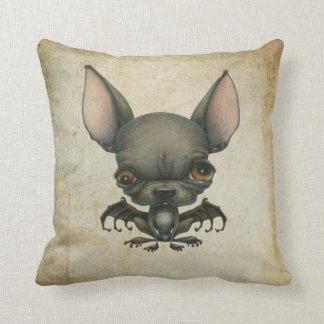 Batdog en el pergamino almohada