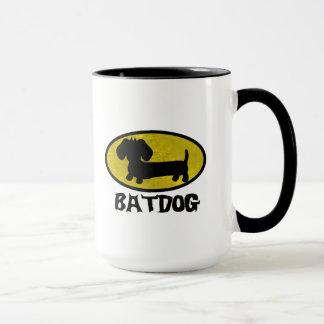 Batdog Wiener Dog Coffee Tea Mug
