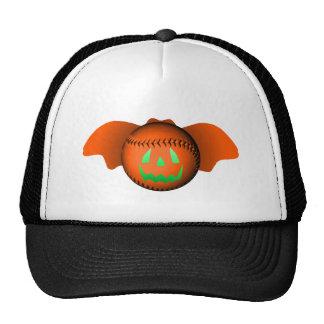 Bate de béisbol de Halloween Gorros Bordados