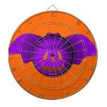 Bate de béisbol de la púrpura de Halloween Tablero De Dardos