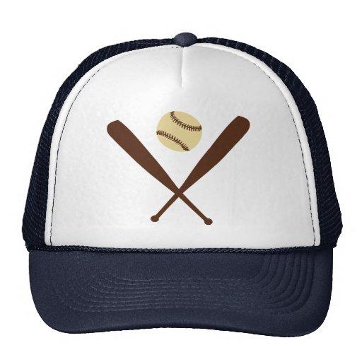Bate de béisbol gorro