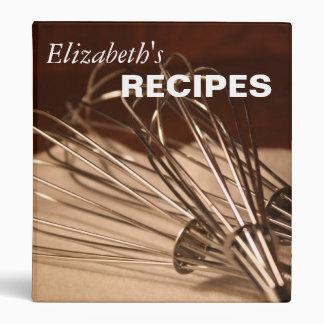 Bate la carpeta de la receta