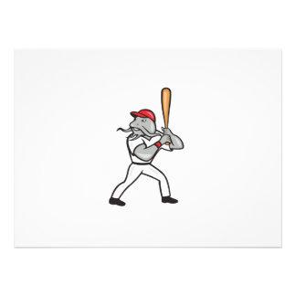Bateador del béisbol del siluro que golpea el carr