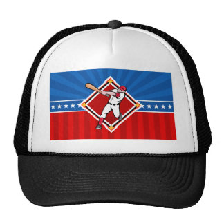 Bateador del béisbol gorra