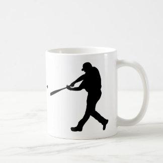 bateador del béisbol taza clásica