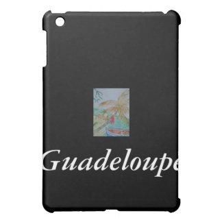 Bateau sur la plage, Guadeloupe iPad Mini Cover