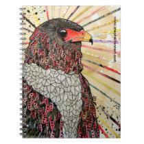 Bateleur Eagle Spiral Notebook