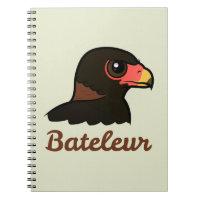 Bateleur Profile Photo Notebook (6.5