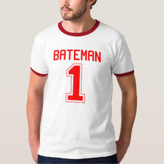 Bateman #1 Football Jersey T-Shirt