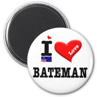 BATEMAN - I Love Magnet