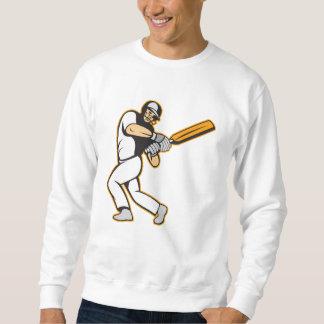 Bateo del bateador del jugador del grillo jersey