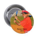 Bateo del botón JB, Berean Allstar2010 Pins