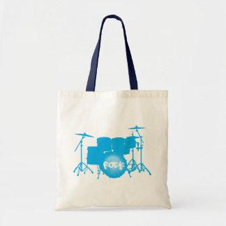 batería - babyblue bolsa de mano